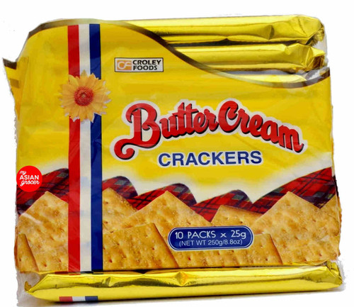 Croley Foods Butter Cream Crackers 250g