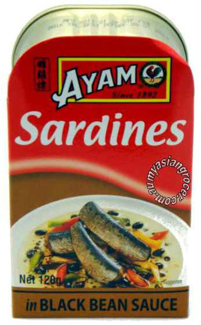 Ayam Sardines in Black Bean Sauce 120g