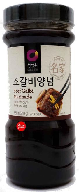 ChungJungOne Beef Galbi Marinade 840g