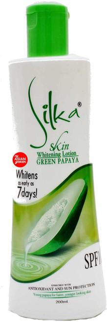 Silka Skin Whitening Lotion Green Papaya 200ml