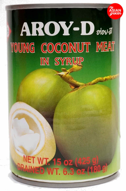 Aroy-D Young Coconut Meat in Syrup 425g