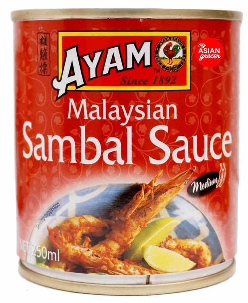 Ayam Malaysian Sambal Sauce 250ml