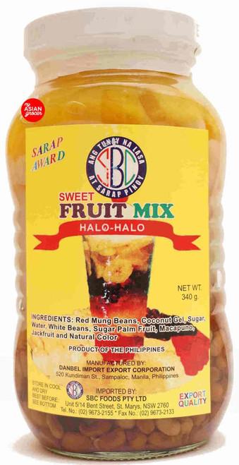 SBC Sweet Fruit Mix Halo Halo 340g