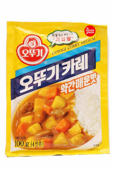 Ottogi Curry Medium Hot 100g