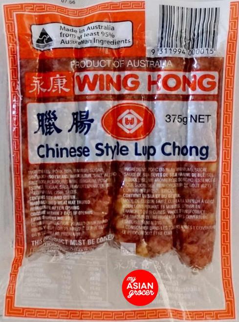 Wing Hong Chinese Style Lup Chong 375g