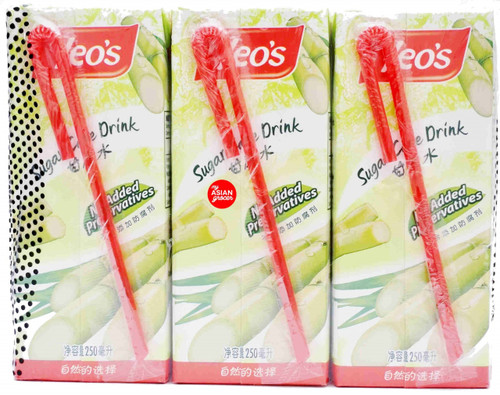 Yeo's Sugar Cane Drink 250ml x 6