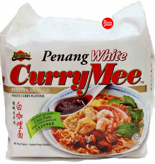 Ibumie Penang White Curry Mee 105g x 4