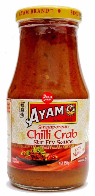 Ayam Singaporean Chilli Crab Stir Fry Sauce 250g