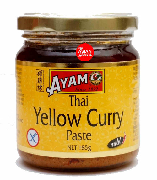 Ayam Thai Yellow Curry Paste (Mild) 185g
