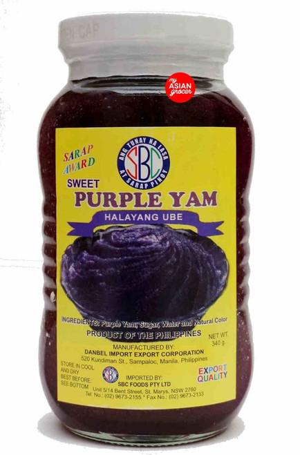 SBC Sweet Purple Yam Halayng Ube 340g