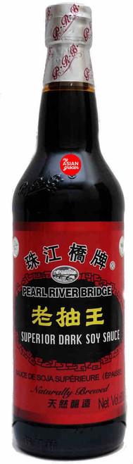 Pearl River Bridge Superior Dark Soy Sauce 600ml