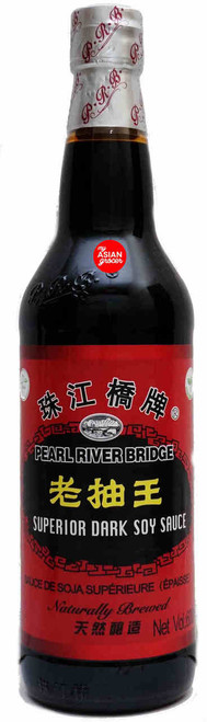 Pearl River Bridge Superior Dark Soy Sauce 600ml