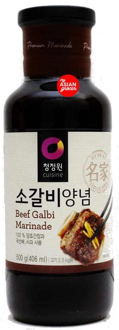 ChungJungOne Beef Galbi Marinade 500g
