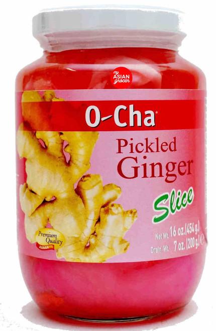 O-Cha Pickled Ginger Slice 454g