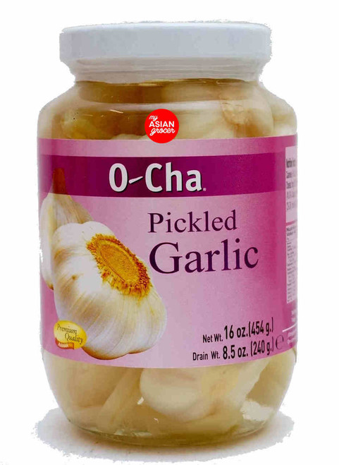 O-Cha Pickled Garlic 454g