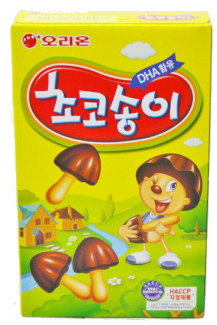 Orion Chocolate 'Mushroom' Biscuits 50g