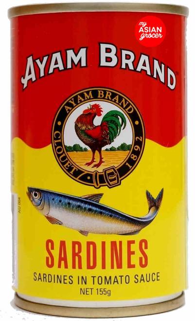 Ayam Sardines in Tomato Sauce 155g