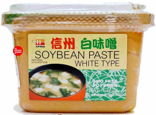 Hanamaruki Soybean Paste White Type 500g