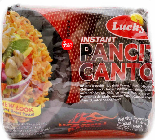 Lucky Me! Instant Pancit Canton Hot Chili Flavour 6 x 60g