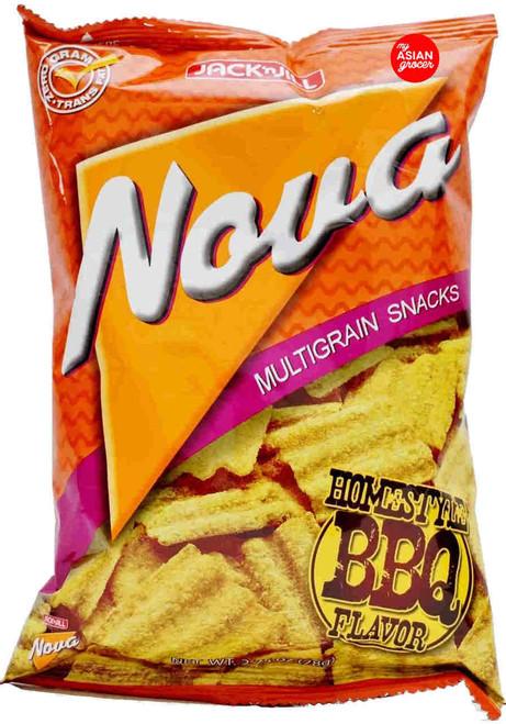Jack'n Jill Nova Multigrain Snacks Homestyle BBQ Flavor 78g