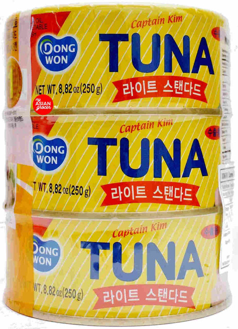 Dongwon Captain Kim Tuna 250g x 3