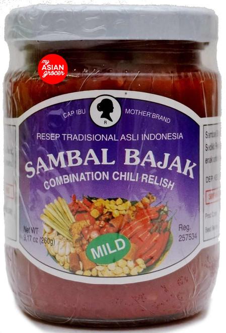Mother Brand Sambal Bajak (Mild) 250g