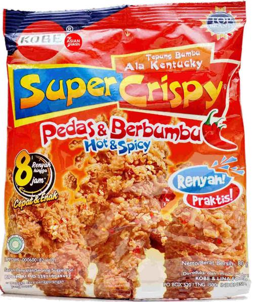 Kobe Super Crispy Pedas & Berbumbu 80g