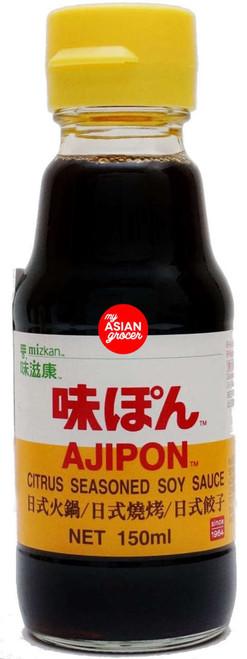 Mizkan Ajipon Citrus Seasoned Soy Sauce 150ml