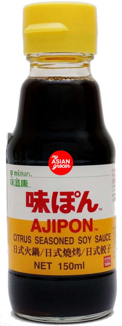 Mizkan Ajipon Citrus Seasoned Soy Sauce 150ml