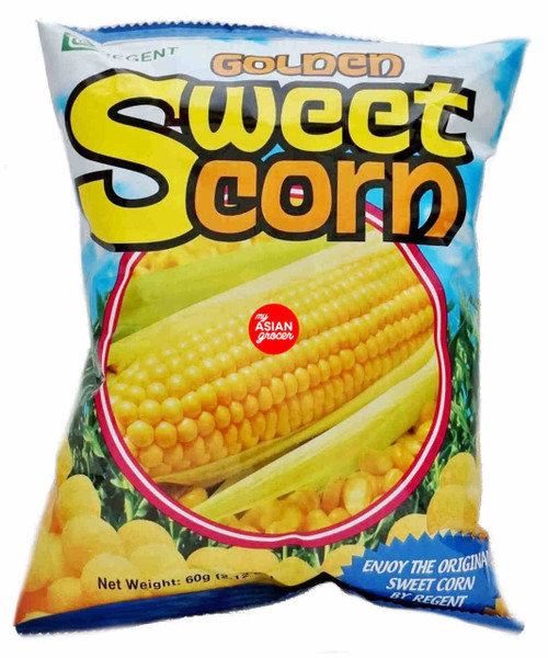 Regent Golden Sweet Corn Chips 60g