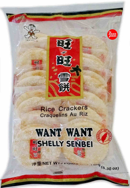 Hot-Kid Want Want Shelly Senbei Rice Crackers 150g