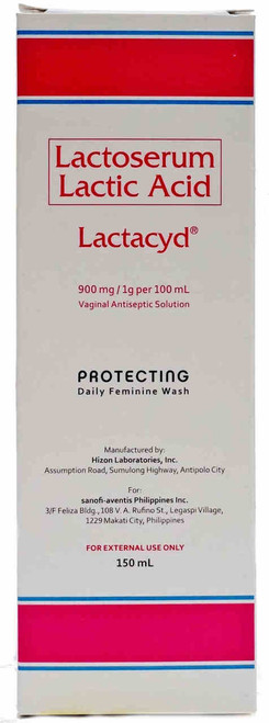 Lactacyd Vaginal Antiseptic Solution 150ml