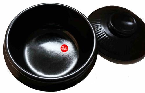 Korean Style Glazed Claypot (Large) for Jjigae