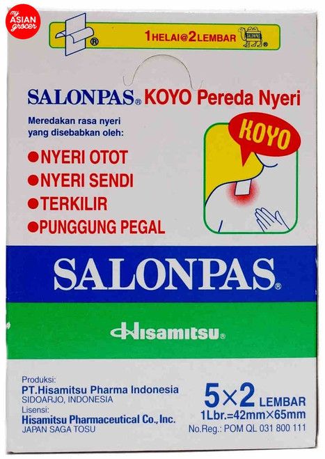 Hisamitsu Salonpas (5 x 2) Patch x 10 Pack