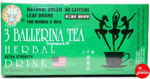 3 Ballerina Herbal Tea Drink 53.88g