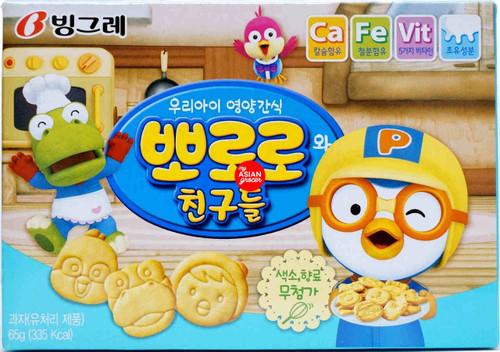 Binggrae Pororo Cracker 65g