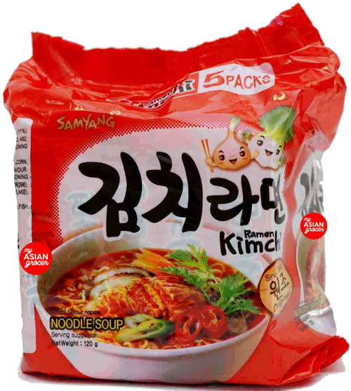 Samyang Kimchi Ramen 120g x 5 Pack
