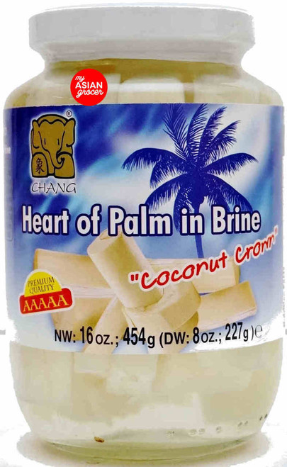 Chang Heart of Palm in Brine 454g