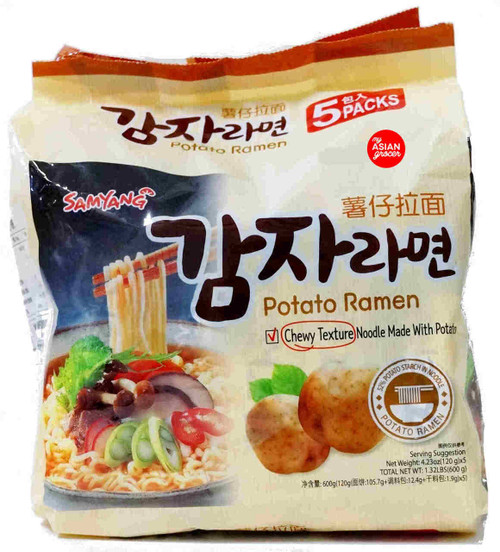 Samyang Potato Ramen 120g x 5 Pack