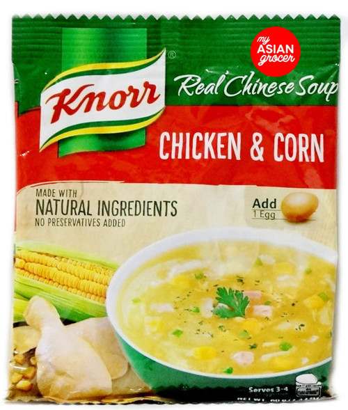 Knorr Chicken and Corn Soup Mix 60g