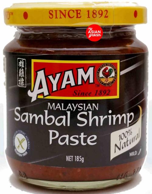 Ayam Malaysian Sambal Shrimp Paste (Mild) 185g