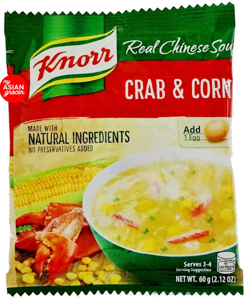 Knorr Crab and Corn Soup Mix 60g