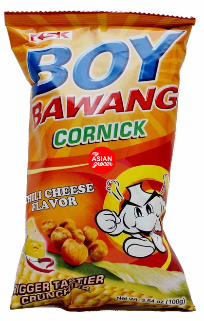 Boy Bawang Cornick Chili Cheese Flavor 100g