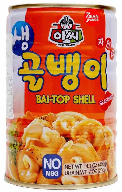 Assi Bai-Top Shell (Seasoned) 400g