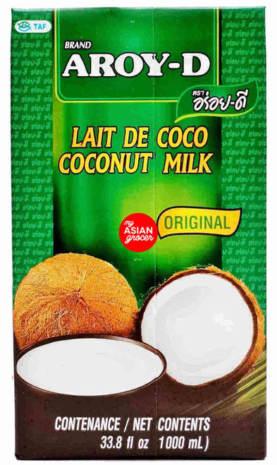 Aroy-D Coconut Milk Original 1000ml