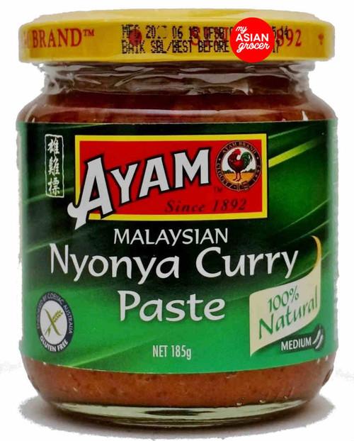 Ayam Malaysian Nyonya Curry Paste (Medium) 185g