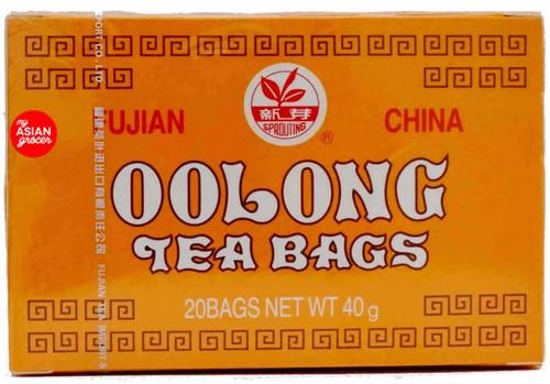 Sprouting Fujian China Oolong Tea Bags 40g