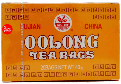 Sprouting Fujian China Oolong Tea Bags 40g