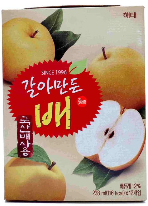Haitai Korean Pear 238ml x 12 Can
