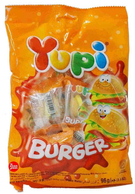 Yupi Gummy Candies Burger 96g